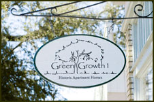 Green Growth Historic Savannah Homes